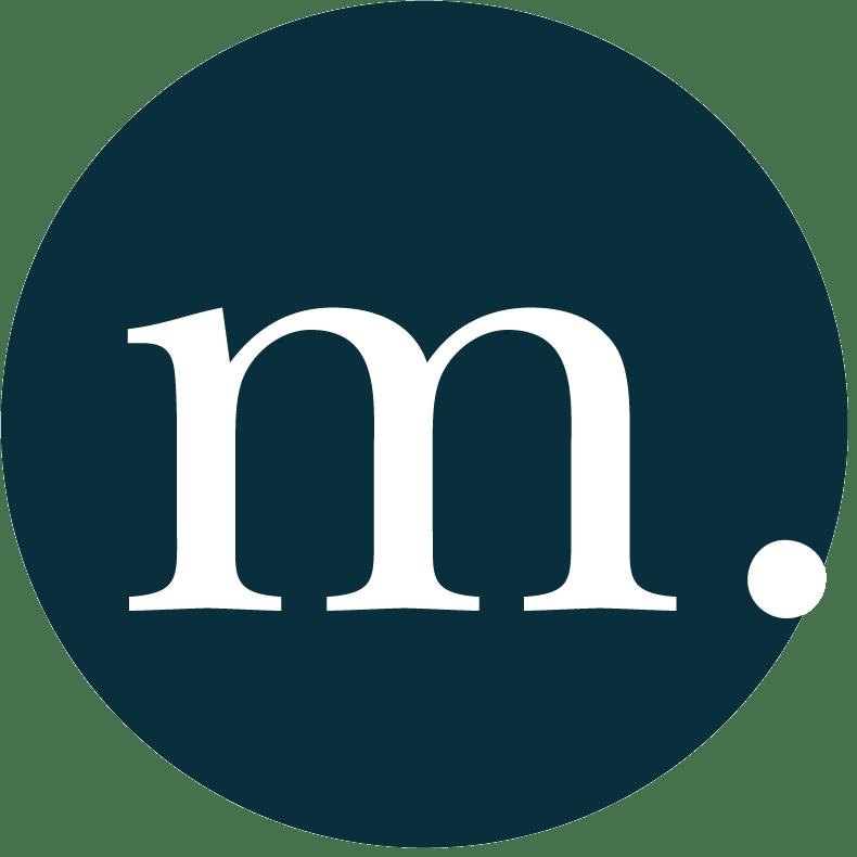 m. roberts media circular m logo