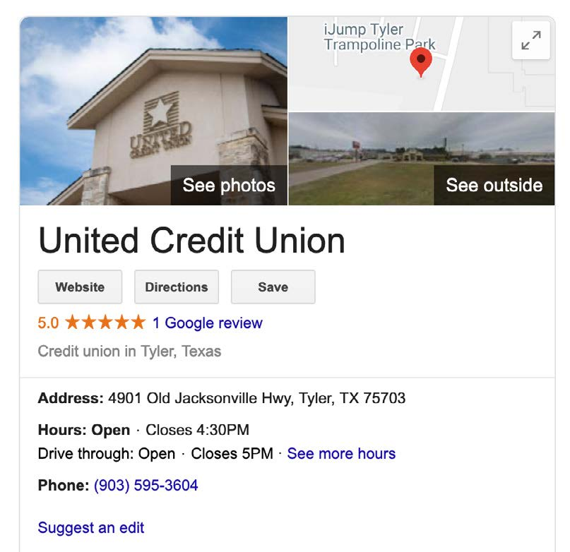 SEO for United Credit Union