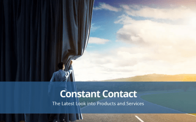 New One Stop Shop Features on Constant Contact