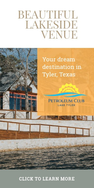 Lake Tyler Petroleum Club - Beautiful Lakeside Venue